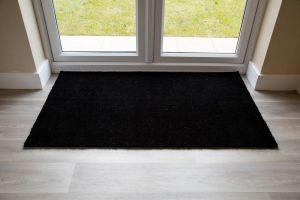Black Coir Entrance Door Mat Various Sizes