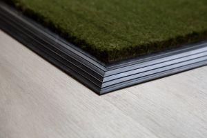 Green Coir Entrance Mat With Rubber Edge Various Sizes