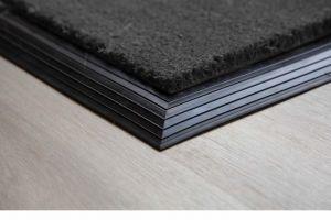 Grey Coir Entrance Mat with Rubber Edge Various Sizes