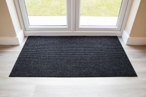 Adem Rib Matting 11mm Thick-Anthracite-90 cm x 60 cm