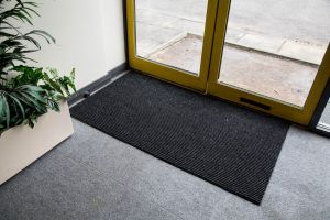 Anthracite ADEM Rib Entrance Mat 11mm Made to Measure