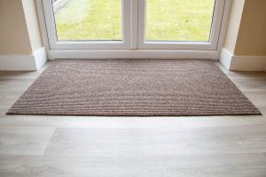 Hard Wearing ADEM Rib Entrance Mat 11mm Beige Various Sizes