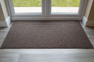 Beige ADEM Rib Entrance Mat 11mm