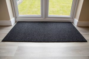 Anthracite Brush Entrance Mat 13.5mm Made to Measure