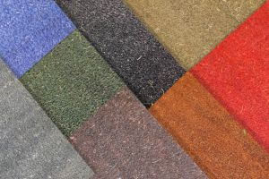 17mm Coir Entrance Door Mat in 7 Colours & Multiple Sizes