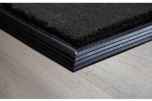 17mm Coir matting with Rubber Edge - Grey - 100 cm x 200 cm