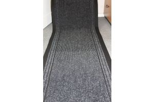 Long Hallway Entrance Runner Mat Charcoal Run