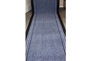 Long Hallway Entrance Runner Mat Blue Water
