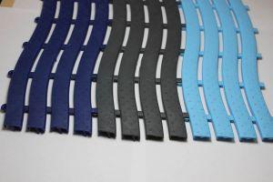 Shower Room Safety Matting Light Blue