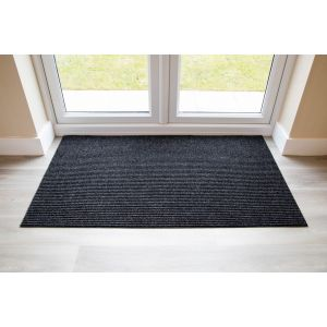 Adem Rib Matting 11mm Thick-Anthracite-115 cm x 240cm