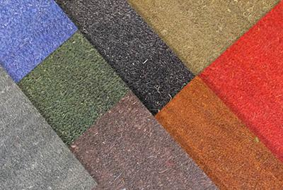 Tailor-made entrance matting