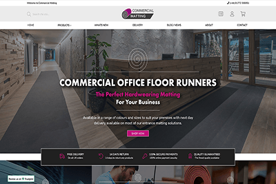Matrix launches exciting new Commercial Matting Website