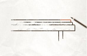 Straight table edge